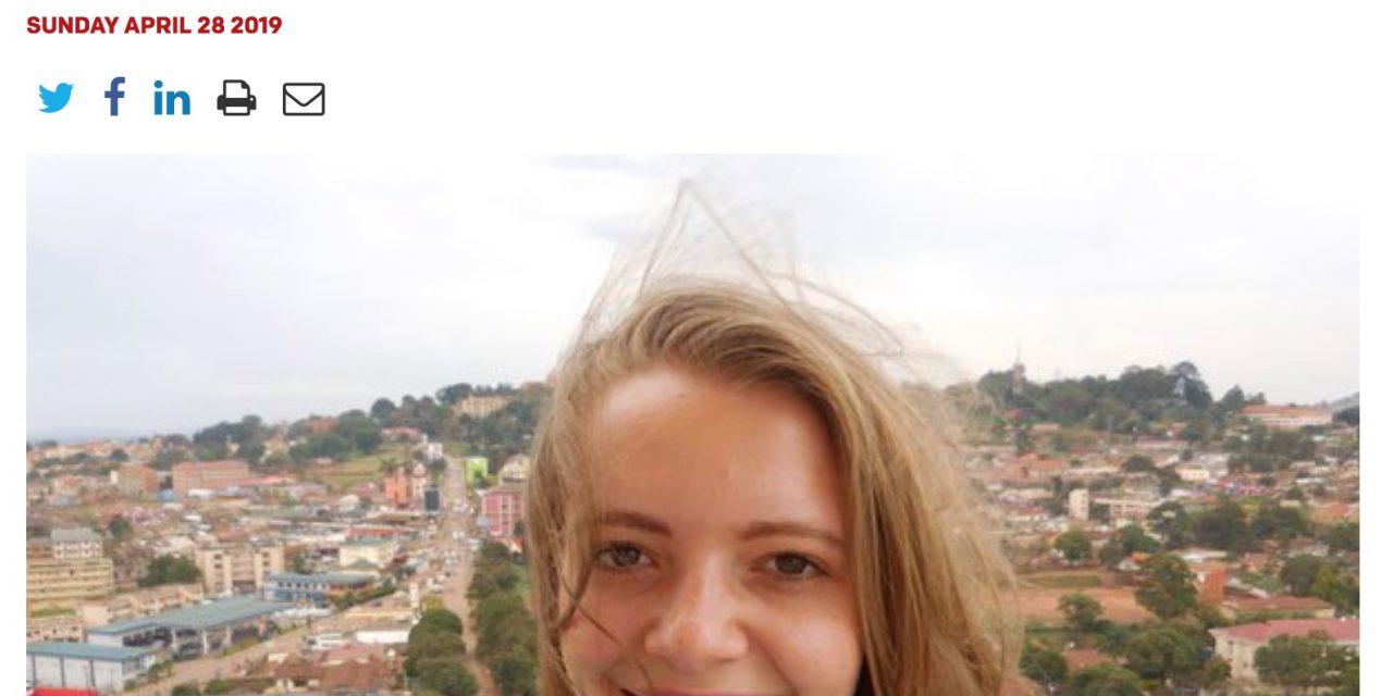 Sophia's verdwijning in de Oegandese kranten