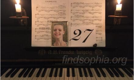 Sophia wordt 27 vandaag